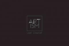 ARTISM Logo official Wit