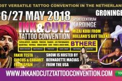 INK&CUTZ Spandoek 04 Action Fakir Testa